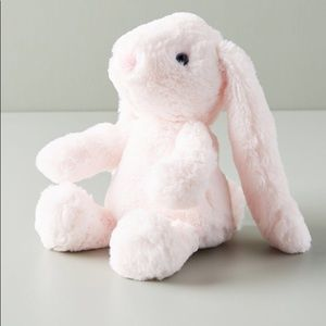 NWT Anthropologie Pink Baby Bella Bunny Plush